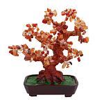Дерево счастья сердолик, высота 25см